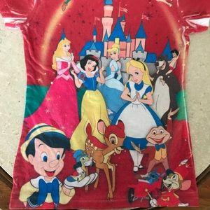 Disneyland Resort Shirts & Tops - Disneyland Since 55 Many Characters Tee SZ SM NEW
